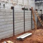 Cortina de concreto contenção