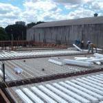 Laje treliçada de concreto